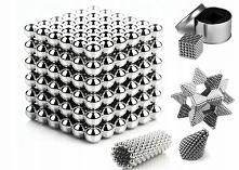 KULKI KLOCKI MAGNETYCZNE NEOCUBE 216szt. 5mm + BOX