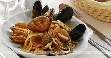 Spaghetti z mulami gotowany...