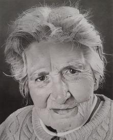 Joyce, portret wykonany w S...
