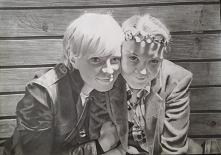 Magda i Emma, portret wykon...