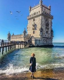 Torre de Belém w Lizbonie, ...