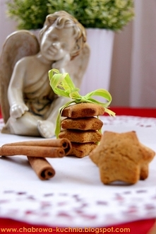 Cynamonowo-miodowe ciasteczka