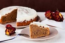 Ciasto kawowe z polewą śmie...