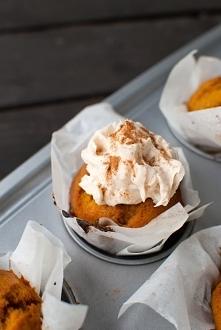 dyniowe cupcake'i z cream c...