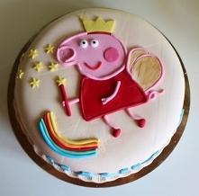 Tort Świnka PEPA dla Hani