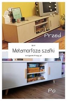 DIY Metamorfoza szafki pod ...