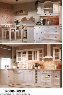 Kuchnia drewniana, z litego...