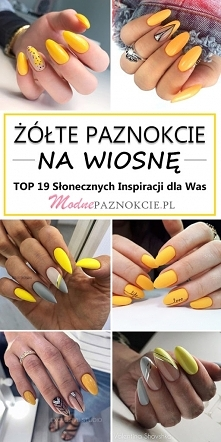 Żółte Paznokcie na Wiosnę –...
