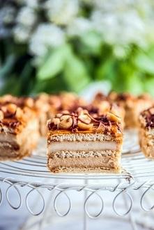 Ciasto snikers bez pieczenia :)