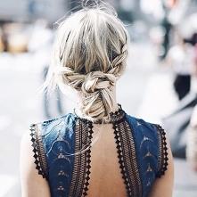 Włosy, sukienka