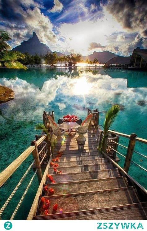 Niesamowity zakątek, Bora Bora ❤️ Puzzle online dla Was