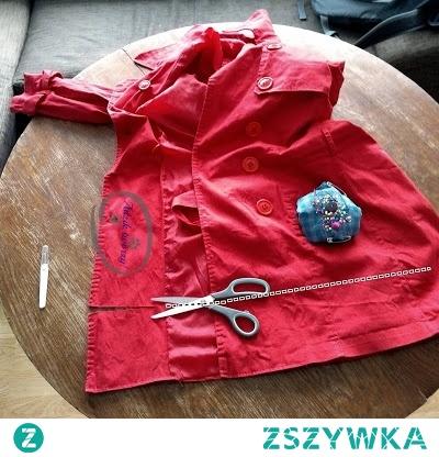 Masz w szafie całkiem dobry płaszcz, który jest jednak zbyt długi jak na Twój wzrost? Zamiast przejmować się niewymiarowymi ubraniami spraw, by dopasować ciuchy do siebie i swoich potrzeb!  Instrukcje DIY na skracanie zbyt długiego płaszcza znajdziesz po KLIKnięciu w zdjęcie oraz na blogu Adzik-tworzy.pl
