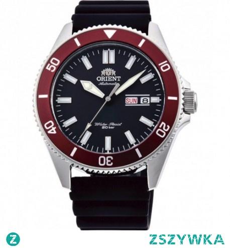 Orient ra-aa0011b19b to zegarek japońskiego marki, która zasłynęła na rynku jako producent wytrzymałych i stylowych zegarków. Połączenie klasycznej czerni, eleganckiego srebra i koloru bordowego to kropka nad i każdej stylizacji!