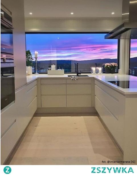 Kuchnia z widokiem