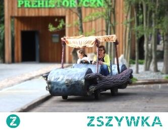 Pojazdy Flintstonów. Mega zabawa! Park Ewolucji w Sławutówku parkewolucji.pl