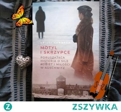 """""""Motyl i skrzypce"""" - Wzruszająca powieść o miłości w Auschwitz, sile kobiet i determinacji by żyć. Autorka bardzo ciekawie poprowadziła fabułę przeplatając czasy odległe z dzisiejszymi. Czyta się wyśmienicie. Cała recenzja na blogu - zapraszam."""