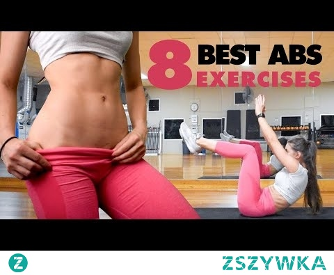 8 MUST DO ABS Exercises for Flat Stomach and Strong Abs - All Levels | Home Workout No Equipment