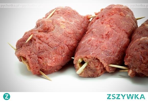 Gołąbki z mięsa z grzybowym farszem