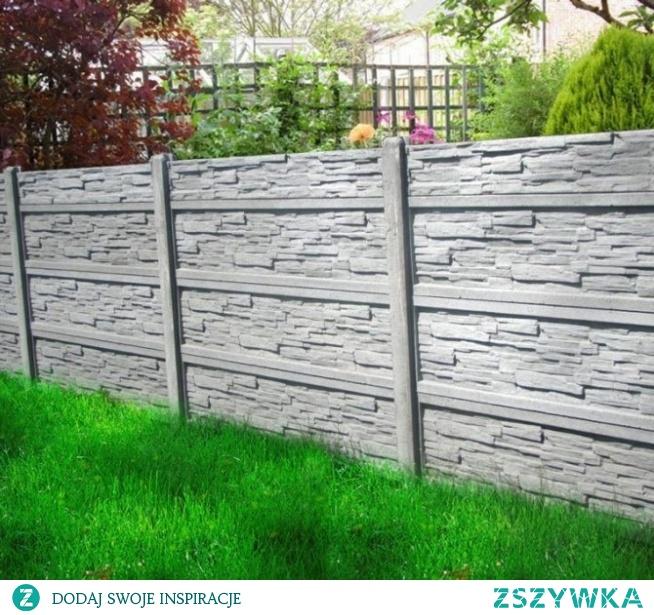 Ogrodzenie betonowe, które będzie stanowiło niezbędny element każdej posesji.