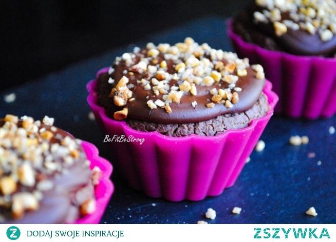 Pieczone tofurniczki czekoladowe - wegańskie. Przepis po kliknięciu w zdjęcie.
