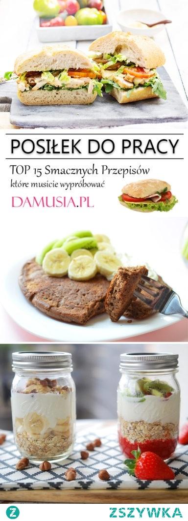 Jedzenie do Pracy – TOP 15 Smacznych Przepisów na Posiłek do Pracy