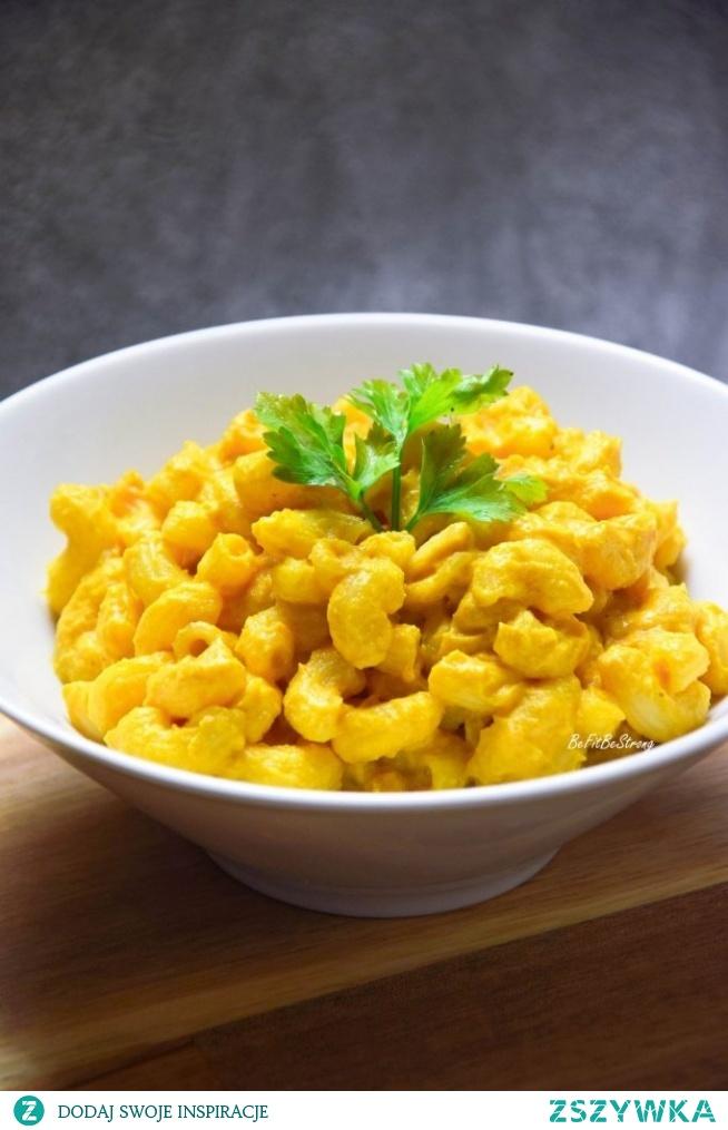 Wegański Mac&Cheese - makaron z serem. Przepis po kliknięciu w zdjęcie.