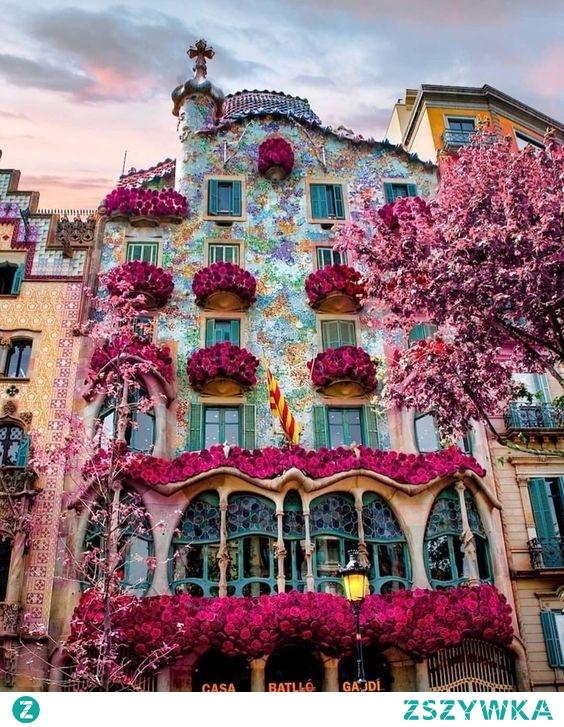 Niezwykłe miejsce w Barcelonie, Hiszpania