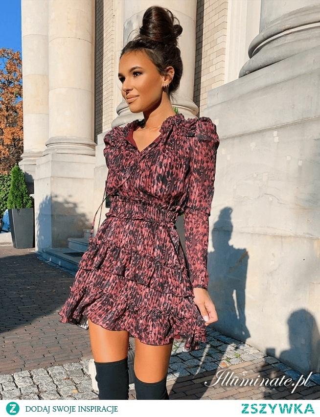 Elegancka sukienka casual z kolekcji illuminate.pl