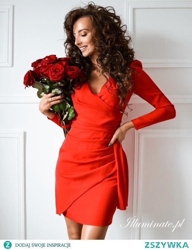 Czerwona sukienka na Walentynki ze sklepu illuminate.pl <3
