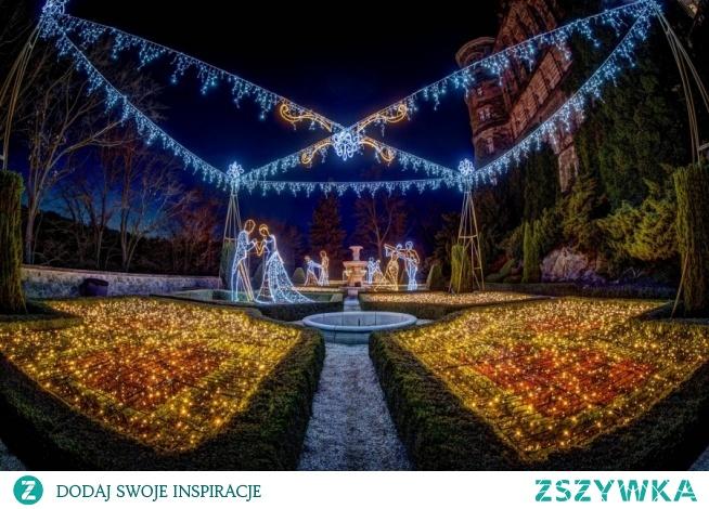 Ogrody Światła na zamku Książ