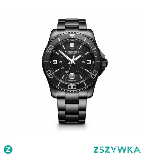 Maverick black to czarny, matowy zegarek, który dopasuje się do każdej stylizacji - zarówno tej bardziej, jak i mniej formalnej. Szwajcarska precyzja, wytrzymałość i solidność to wszystkie cechy, które wyróżniają ten zegarek. Musisz go mieć!