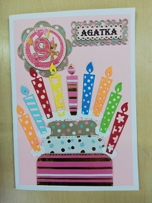 9 urodziny Agatki