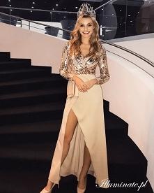 Miss Polonia 2019 w sukienc...