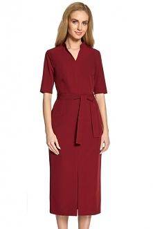 Minimalistyczna sukienka z ...