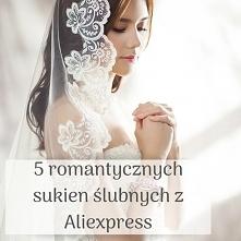 5 romantycznych sukien ślub...
