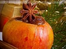 Pieczone jabłka z pysznym f...