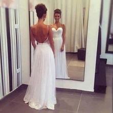 Piękna suknia.