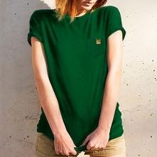 Koszulka damska w zielonym ...