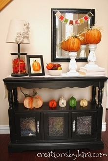 entry way table decor ideas
