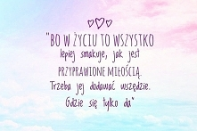 cytat na dziś, miłość <3...