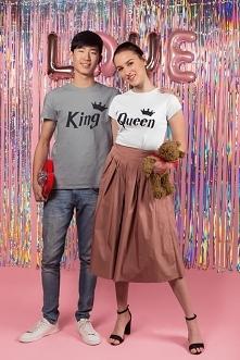 Koszulki King & Queen d...