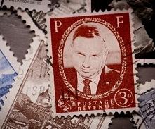 Poczta  wypusciła znaczek z...