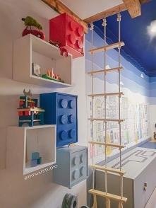 Półki Lego DIY @patmatstudio