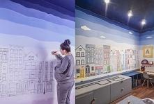 Malowanie ścian w pokoju mo...