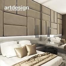 Przytulna sypialnia z elega...