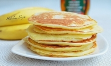 Bananowe pancakes z syropem...