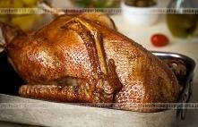Pieczony kurczak pachnący c...
