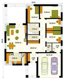 parter house plan