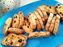 biscotti- żurawiną i migdałami