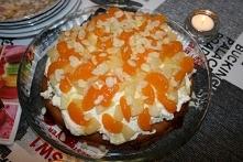 Błyskawiczne ciasto z bitą ...